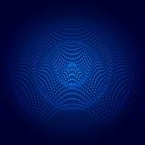 Ejemplo abstracto de la onda acústica Imágenes de archivo libres de regalías