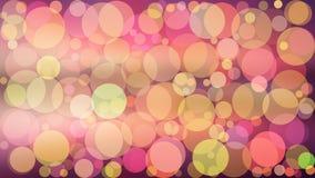 Ejemplo abstracto del boke del color del vector del fondo Imagenes de archivo