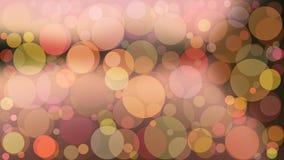 Ejemplo abstracto del boke del color del vector del fondo Fotos de archivo