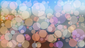 Ejemplo abstracto del boke del color del vector del fondo Foto de archivo libre de regalías