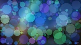 Ejemplo abstracto del boke del color del vector del fondo Imagen de archivo