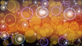 Ejemplo abstracto del boke del color del vector del fondo Fotografía de archivo libre de regalías