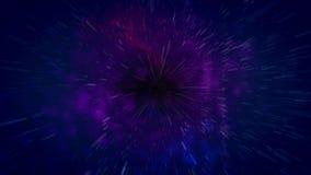 Ejemplo abstracto del calabozo del cosmos Fotografía de archivo
