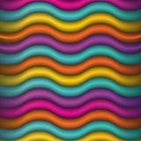 Ejemplo abstracto del fondo de los colores que agita ilustración del vector