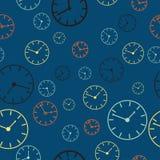 Ejemplo abstracto del fondo del vector del tiempo Fotografía de archivo libre de regalías