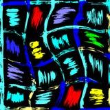 Ejemplo abstracto del modelo del color hermoso de la pintada libre illustration