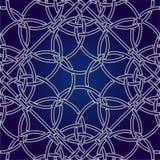 Ejemplo abstracto del vector del modelo del ornamento EPS 10 Fotografía de archivo