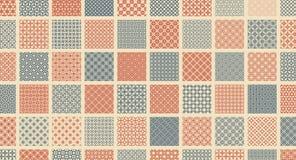 ejemplo abstracto del vector Diseño gráfico simple Modelo para la impresión de materia textil, empaquetar, la envoltura, el etc stock de ilustración