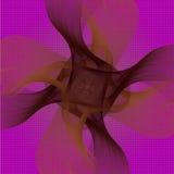 Ejemplo abstracto dinámico de y modelos del remolino Imágenes de archivo libres de regalías