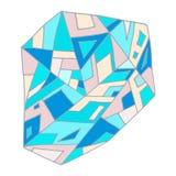 Ejemplo abstracto gráfico Imágenes de archivo libres de regalías