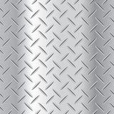 Ejemplo acanalado del vector de la placa de acero Fotografía de archivo