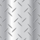 Ejemplo acanalado del vector de la placa de acero Fotografía de archivo libre de regalías