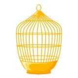 Ejemplo aislado jaula de pájaros Imagen de archivo