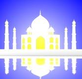 Ejemplo del Taj Mahal Fotos de archivo libres de regalías