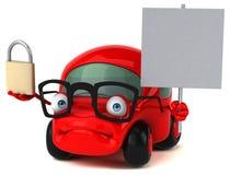 Ejemplo automotriz 3D de la diversión Fotos de archivo