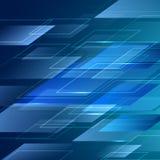 Ejemplo azul del fondo de la transparencia del vector abstracto Imagenes de archivo