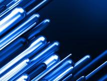 Ejemplo azul del negocio 3d del éxito de las finanzas del negocio Foto de archivo