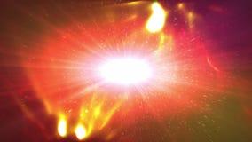 Ejemplo blanco del plazma del universo abstracto Imagenes de archivo