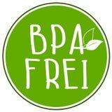 Ejemplo BPA del icono libre - frei stock de ilustración