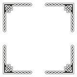Ejemplo céltico decorativo del vector del marco libre illustration