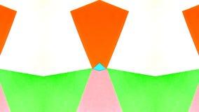 Ejemplo caleidoscópico de papeles coloreados libre illustration