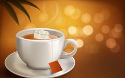 Ejemplo caliente del té libre illustration