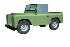 Ejemplo campo a través del vehículo 3D Fotos de archivo libres de regalías