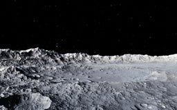 Ejemplo científico de la luna libre illustration