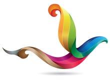 Ejemplo colorido del pájaro Foto de archivo libre de regalías