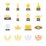 Ejemplo común del vector: Premios y trofeo ilustración del vector
