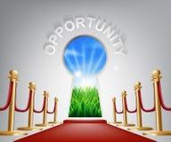Ejemplo conceptual de la oportunidad Foto de archivo libre de regalías