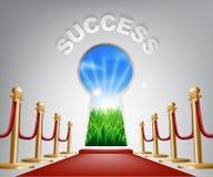 Ejemplo conceptual del éxito Imagen de archivo libre de regalías