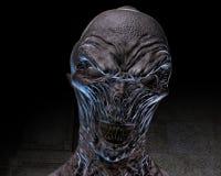 ejemplo 3D de un espíritu necrófago espeluznante Foto de archivo