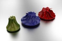 ejemplo 3D del impeledor de turbo Fotografía de archivo