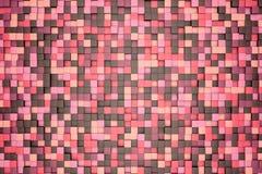 ejemplo 3d: fondo abstracto del mosaico, rosa coloreado, rojo, marrón, violeta, púrpura, beige, color amarillo Primavera, Sakura, ilustración del vector