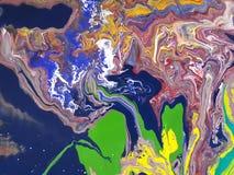 Ejemplo de acrílico Imagen de archivo libre de regalías