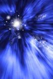 Ejemplo de Archer Rapid Three Shots del duende de la fantasía Imagen de archivo libre de regalías