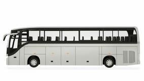Ejemplo de Bus Mock-Up 3D del coche ilustración del vector