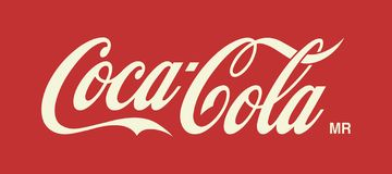 Ejemplo de Coca Cola Logo Editorial Vector stock de ilustración