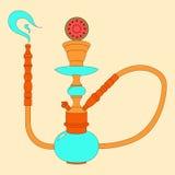 Ejemplo de color del vector de la cachimba con la fruta Fotos de archivo libres de regalías