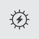 Ejemplo de destello del icono Imagen de archivo libre de regalías