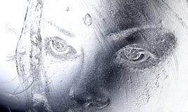 Ejemplo de Digitaces de un alivio femenino libre illustration