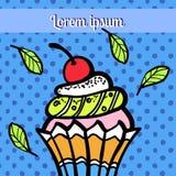 Ejemplo de dulces Imagen de archivo libre de regalías