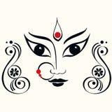 Ejemplo de Durga Fotografía de archivo libre de regalías