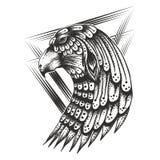 Ejemplo de Eagle Head Vintage Vector libre illustration