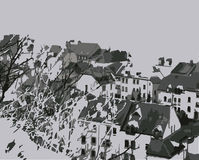 Ejemplo de Europa de la ciudad Fotografía de archivo libre de regalías