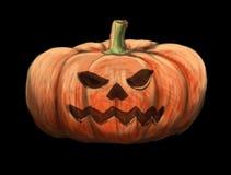 Ejemplo de Halloween de la calabaza Imagen de archivo