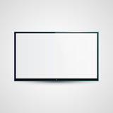 Ejemplo de Icd de la pantalla plana de la TV Fotografía de archivo libre de regalías