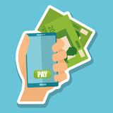 Ejemplo de impuestos, icono editable del vector Fotografía de archivo libre de regalías