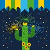 Ejemplo de junio de la festividad libre illustration